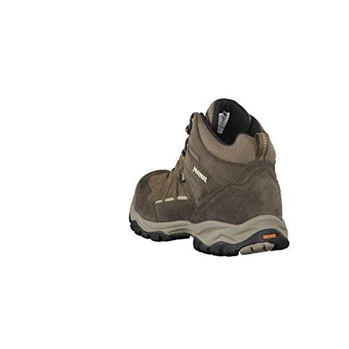 Meindl Nebraska Mens Chaussures, de couleur marron foncé Marron