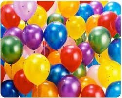 Sharry-Metallic Latex Balloons Assorted Colors (Pack of 12)