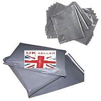 100pc nuovi in plastica extra resistente borsa imballaggio buste postali in polietilene posta 9x 12Inc