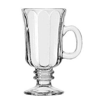 LIB5294-8.25 Ounce Irish Coffee Mug with Optic Design by Libbey (Mug Irish Coffee Libbey)