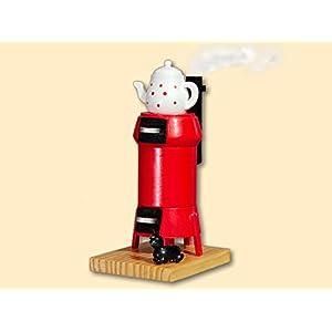 Rauchofen Küchenherd nostalgisch+24 Räucherkerzen als Dekoration für Weihnachten