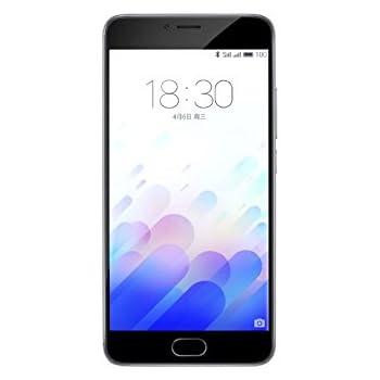 "Meizu M3 note - Smartphone libre Android (pantalla 5.5"", Octa-Core, 3 GB RAM, 32 GB, cámara 13 Mp), color gris"