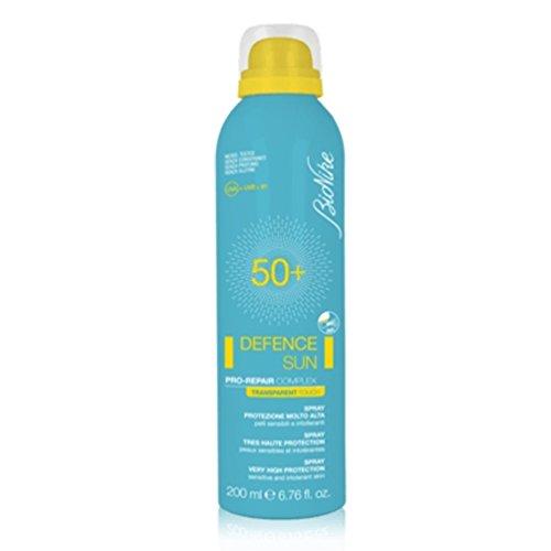 Bionike defence sun transparent touch spf50+ spray solare pelli sensibili 200 ml