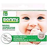 BENNY Nasal Aspirator - snotsucker -the most effective nose cleaner for sinus congestion