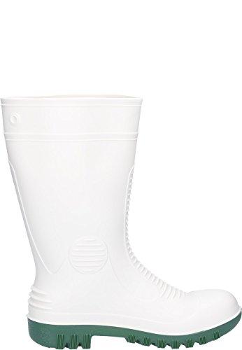 Dunlop Acifort HV, mit zertifiziertem Schutz gegen Stromschläge Din EN345 SB , Gummistiefel in weiß Weiß