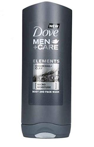 "DOVE Duschgel Men + Care""Elements Charcoal + Clay"" - 6er Pack (6 x 400 ml)"
