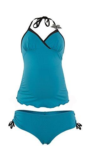 Cache Coeur Triangel-Tankini Neckholder Bora inkl. Shorts +20% UVA Schutz 63903 (Bora Bora Bademode)