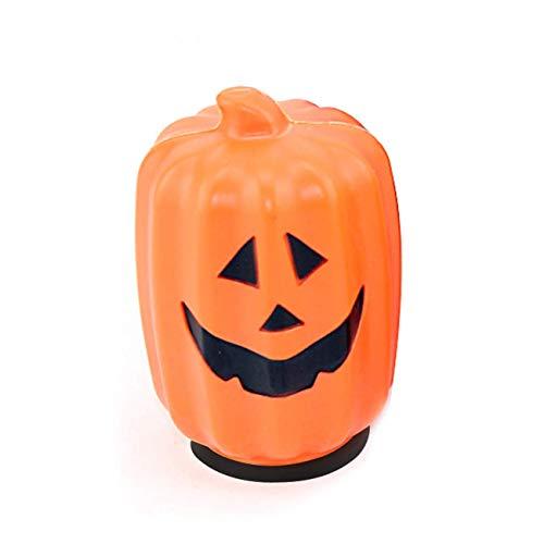 (Halloween LED Kürbis Licht, Halloween Dekorationen Requisiten Party Laterne Dekoration LED Kürbis Lichter (Orange Kürbis) (Farbe : Orange Pumpkin, Größe : Einheitsgröße))