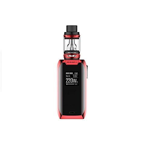 Sigaretta elettronica Vaporesso Revenger X (Rosso) Kit 220w con NRG Mini Serbatoio 2ml, Questo prodotto non contiene nicotina o tobaco