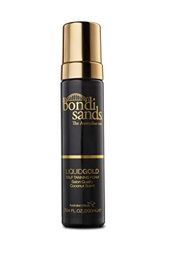 Bondi Sands Liquid Gold Self Tanning Foam 200ml (Tanning Wash Body)