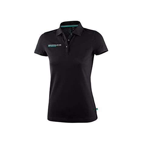 Mercedes AMG Petronas Damen Polo Womens schwarz Poloshirt Shirt 6000051