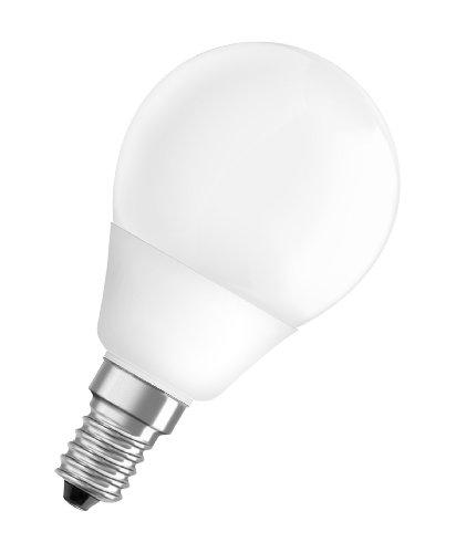 OSRAM Dulux Superstar Classic P 9-W-Energiesparlampe E14, warmweiß