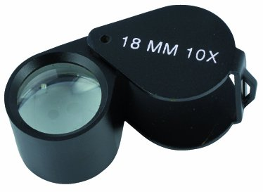 ANTILOPE Lupe schwarz Verpackungseinheit: 1 Stück