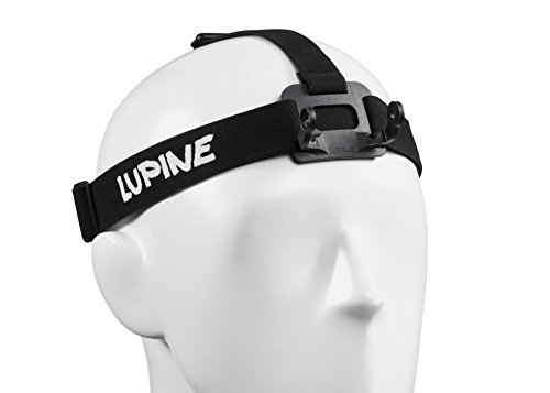 Lupine Piko/R Piko Kopfband incl Schwarz estándar. Adapter FastClick