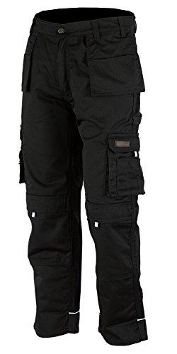 Hommes's Pro-11 Pantalons de Travail Pantalons Cargo Combat Travailleur Taille FR: 46/L (36W/33L Taille Fabrication)