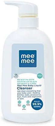 Mee Mee Anti-Bacterial Baby Liquid Cleanser (Cleanser - 500 ml - Bottle)