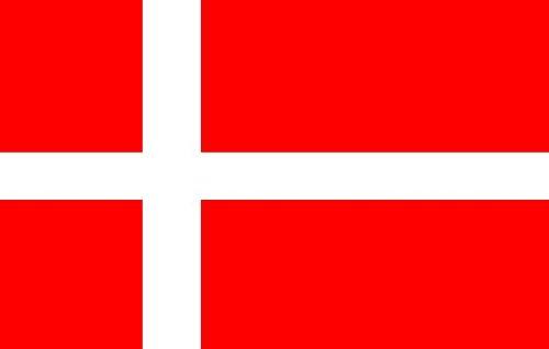 Dänemark Fahne 90 x 150 cm - Flagge - EM 2012 - Dänische Fahne (Dänische Flagge)