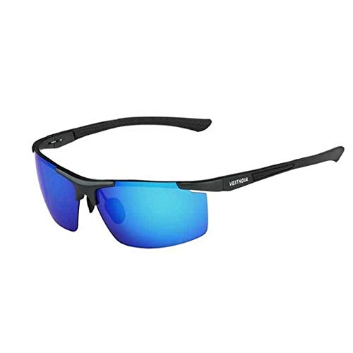 ZHOUYF Sonnenbrille Fahrerbrille Aluminium Magnesium Herren Sonnenbrille Polarisierte Beschichtung Spiegel Sonnenbrille Brille Herren Brille, B