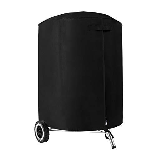 Umi. essentials barbecue copertura resistente tessuto oxford impermeabile traspirante rotonda bbq grill cover, 71 x 68cm