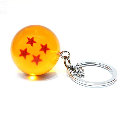 Lujiaoshout 1pc Dragon Ball Llavero Colgante Colgante