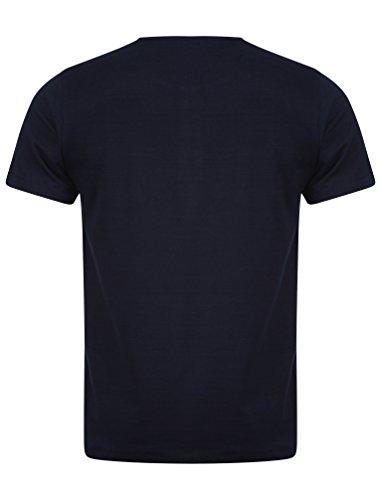 Dissident Herren Mateo Baumwoll-T -Shirt Größe S- XL Dunkel Marineblau