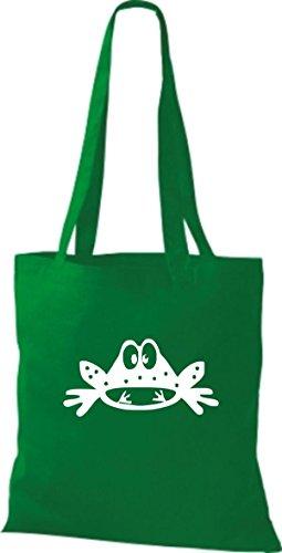 Shirtstown Stoffbeutel Tiere Frosch Kröte Kelly