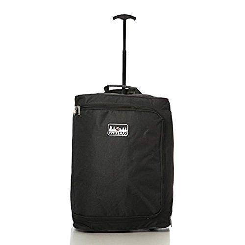 RYANAIR MASSIMO CABINA bagaglio a mano APPROVATO trolley, 42L (NERO)