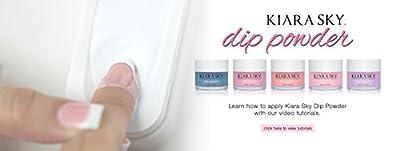 Kiara Sky Acrylic Dip Powder French Manicure Look