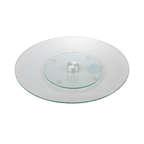 Tortenständer Tortenplatte Tortenhaube Patisserie aus Glas 30 cm Tamara