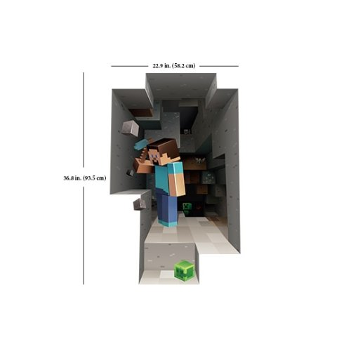 Minecraft – Steve Wandtattoo