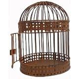 Craft salida rústico alámbrico Jaula de Pájaros, 8,5by 10.5-Inch