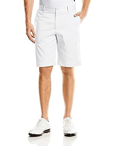 2015 Nike Dri-Fit Flat Front Mens Funky Golf Shorts White 40