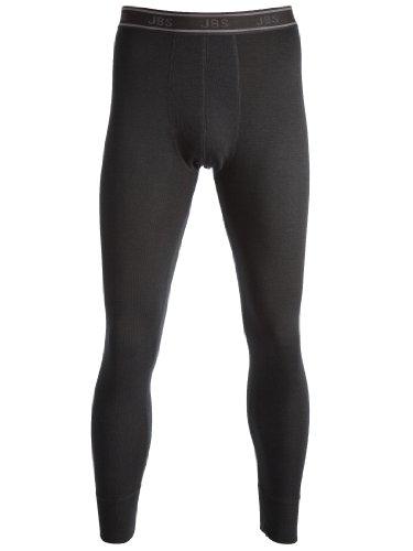 JBS Herren lange Unterhose Dess. 993 Wool, Schwarz, XL, 994210809-200 (Thermal Lange Wolle Unterwäsche)