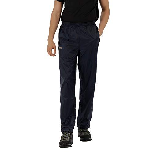 Regatta Herren Pack-It Regenhose für Herren, Blau (marine), 54-56 EU (Herstellergröße: XL )