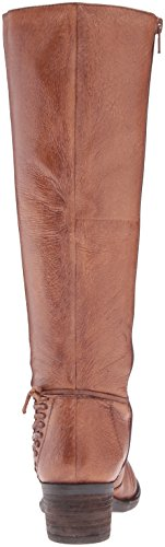 Steve Madden Womens Lonnny Riding Boot Cognac Leather