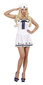 WIDMANN 2062?marinero, color blanco, talla S