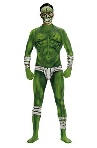 Kostüm Party 007 - URVIP Unisex Halloween Unheimlich Gespenstisch Bodycon Party Cosplay Kostüm Overalls WB141-007 S