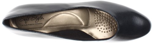 Soft Style Women's Angel II Dress Pump,Putty Elegance,10 M US Navy Elegance