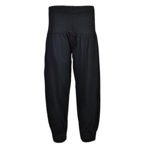 new-girls-harem-alibaba-pant-trouser-age-7-13-years-13-plain-black
