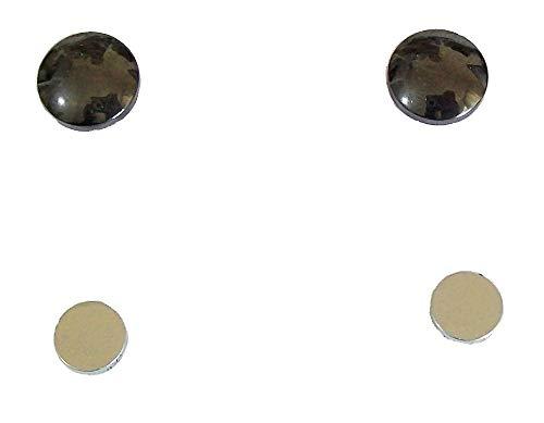 1 Paar magnetische Ohrringe, gesunde Stimulation, Akupoints, Therapie, Gesundheitswesen, Hämatit, Schmuck -