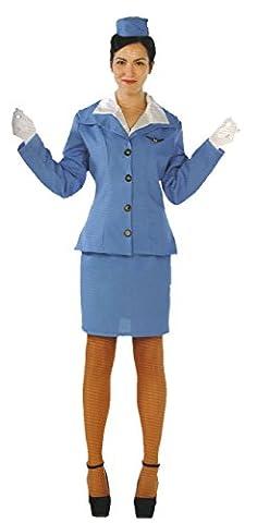fyasa 706246-t04Kellnerin Kostüm, groß (Kellnerin Kostüm Kind)
