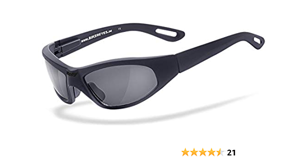 Helly No 1 Bikereyes Bikerbrille Motorradbrille Motorrad Sonnenbrille Topseller Beschlagfrei Winddicht Bruchsicher Top Tragegefühl Bei Langen Ausfahrten Brille Black Angel Auto
