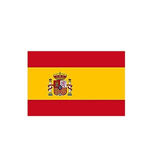 Magiyard Bandera Nacional Bandera España 90 x 150 cm, España Bandera Ornamento Decor Inicio