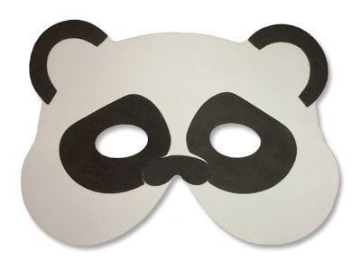 8 x Assortiment Animaux Foam Masques -