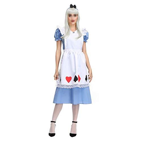 HUIMEIS Lady Halloween Alice Fantasy Wonder Maid Pack