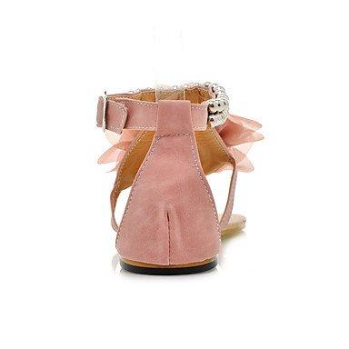 LvYuan Da donna-Sandali-Tempo libero Formale Casual-Altro-Piatto-PU (Poliuretano)-Blu Rosa Beige Pink