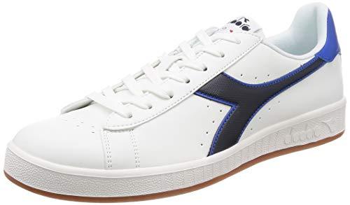 Diadora Game P, Sneaker Unisex Adulto, (Bianco/Verde Verdeggiante C6834), 41 EU