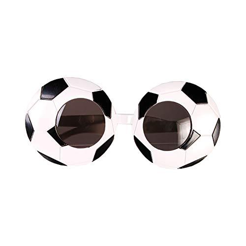 Preis am Stiel ''Spaßbrille I'' Fußball | Partybrille | Brille | Karneval | Fasching | Kostümzubehör | Requisiten | Party | Spaßbrille für Party