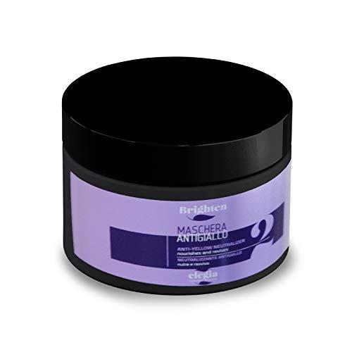 Balsamo Antigiallo Per Capelli Biondo - Shampoo professionale  Linea Silver Shampoo  Rivitalizza i Capelli Biondi, Decolorati e Con Meches  500 ml (Balsamo)