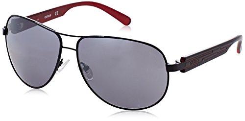 Guess Men's GU6675 Sunglasses, Black (Nero), 64